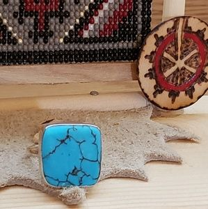 925 Turquoise Ring